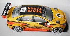 2015 Lada Vesta WTCC Paper Car Free Vehicle Paper Model Download…