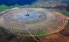 The World's First Solar Power Plant (Spain)