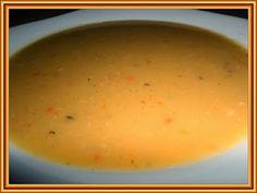Kouzelná vařečka: Rychlá hrachová polévka Cheeseburger Chowder, Soup, Eggs, Pudding, Breakfast, Desserts, Morning Coffee, Tailgate Desserts, Deserts