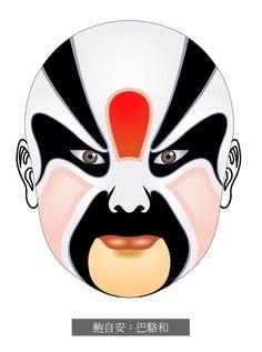 Chinese Opera Masks,Peking Opera Masks,BaLuoHe BaoZiAn