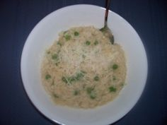 Pressure Cooker Risotto With Peas
