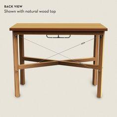 standing height desk idea... just needs a bit of sprucing up