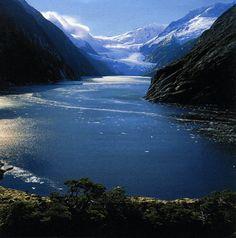 Beagle Channel Glacier in the Parque Nacional Alberto de Agostini - Chile