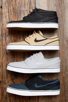 mens_fashion - Nike SB Zoom Stefan Janoski SB Skate Shoes @ Tactics com Sneaker Outfits, Nike Outfits, Vans Outfit, Mode Shoes, Sneakers Mode, Men's Shoes, Shoes Men, Nike Sneakers, Nike Sb Shoes