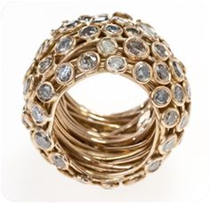 I would only wear 1 ring, and it would be this one! BOAZ KASHI