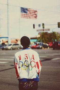 Vintage Olympic Jacket
