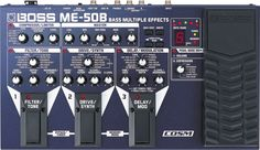 Boss ME-50B Bass Guitar Multi-Effects Pedal