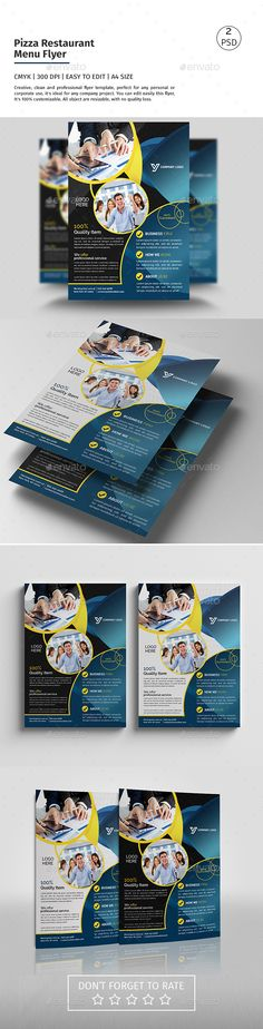 A4 Corporate Flyer 08 - Corporate Flyers | Download http://graphicriver.net/item/a4-corporate-flyer-08/15352182?ref=sinzo