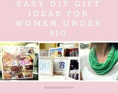 Easy DIY Gift Ideas for Women Under $10