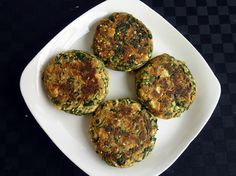 Spinach Tofu Patties