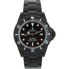 Matte Black Limited Edition Rolex Sea Dweller Watch