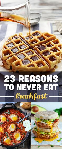 23 Reasons To Never Eat Breakfast