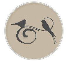 Bird Cross stitch pattern cross stitch bird by MagicCrossStitch