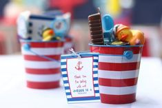 Nautical Themed 4th Birthday Party
