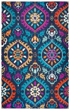 Area rugs at Rugs USA, from contemporary rugs to braided, traditional and flokati shag rugs. Free shipping and a no hassles return policy. Navy Rug, Room Rugs, Zentangle Patterns, Rugs Usa, Pattern Art, Clothing Patterns, Girls Bedroom, Navy Pink, Fabric Design