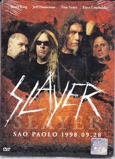 SLAYER Live At Monster of Rock Sao Paolo Brazil NTSC PAL Region All Free Ship