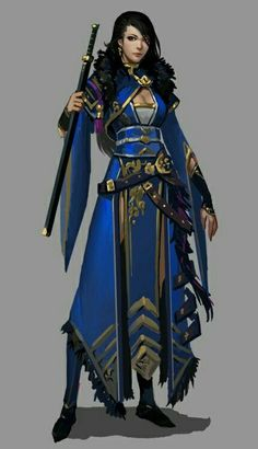 "character inspiration Very structured outfit; makes me wonder how it would ""flow"" if actually constructed and worn. Would the front panels entangle the wearer's legs? Female Character Design, Character Creation, Character Concept, Character Art, Character Ideas, Trajes Anarkali, Fantasy Inspiration, Character Inspiration, Fantasy Characters"