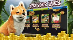 It is a casino app with the famous Japanese dog (Shiba) as theme.