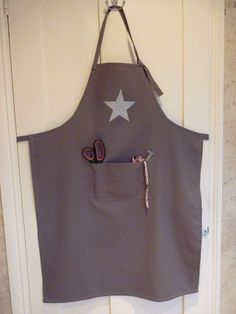 Tout simple.... Du gris, une étoile...