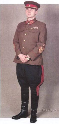 1940-1943 Soviet Red Army generals and marshals' service uniform.
