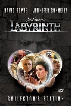 Labyrinth -- A young girl, who enters a world of her own creation, experiences her first awareness of love, responsibility and danger.