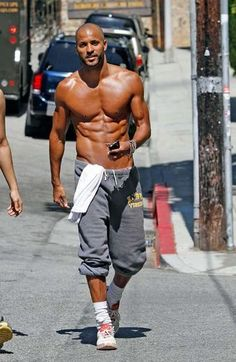Ricky Whittle  (seriously - is that real?  goodness)...