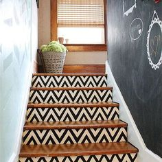 s 15 bold ways to redo your outdated staircase without remodeling, home improvement, stairs