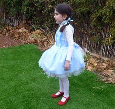 Cómo hacer un disfraz de Dorothy de El Mago de Oz/ Dorothy Wizard of Oz costume