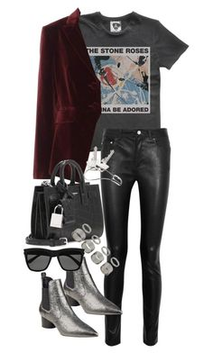 Untitled #3312 by angieswardrobe on Polyvore featuring polyvore, Altuzarra, Acne Studios, Kendall + Kylie, Yves Saint Laurent, Topshop, Georg Jensen, fashion, style and clothing