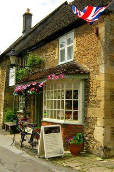 Lacock, Wiltshire, England, UK