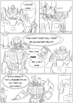 Dibs part 2: Transformers Tomfoolery