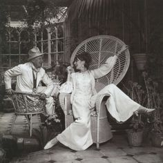 Jean Shrimpton and Cecil Beaton  (via Violette Van Parys)