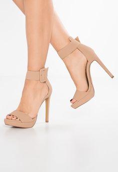 Blauwe Sandalen met hoge hak online shop • ZALANDO • Ruim aanbod