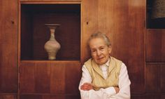 Dame Lucie Rie  http://www.theguardian.com/books/2012/may/25/lucie-rie-modernist-potter-emmanuel-cooper