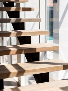 Stairs | Staircase Builder | Handrails - Melbourne, Brisbane, Gold Coast, Adelaide Staircase Design Modern, Timber Staircase, House Staircase, Home Stairs Design, Staircases, Modern Design, Brisbane, Melbourne, Stairs Stringer