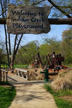 What ARE we UP to??: Indian Creek Playground
