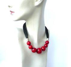 Linen Necklacenatural jewelryLinen necklaceEco necklaceeco