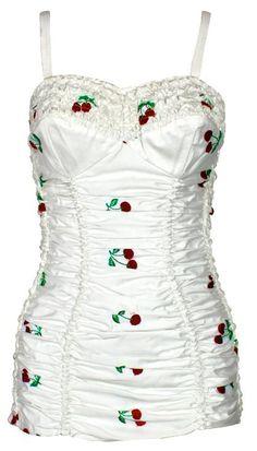 1950's Jantzen cherry bathing suit