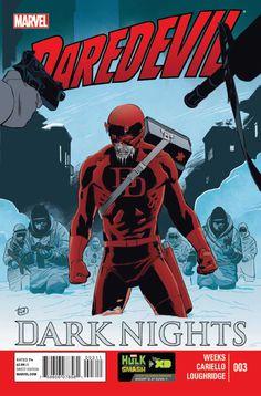 Daredevil: Dark Nights # 3 by Lee Weeks
