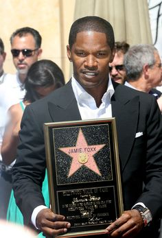 Jamie Foxx not so much eye candy but he has everything else