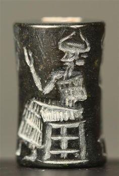 Cylinder Seal  Babylonian, Dynasty of Isin  Skulpturensammlung/Staatliche Kunstsammlungen Dresden