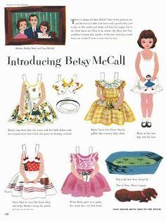 Bonecas de Papel: Betsy McCall