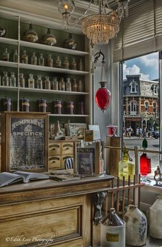 the old apothecary at Niagara on the Lake