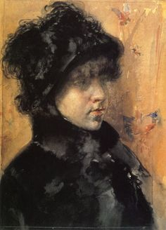 In The Studio - William Merritt Chase - WikiPaintings.org