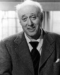 Alastair George Bell Sim, was a Scottish character actor who appeared in a string of classic British films. He is best remembered in the role of Ebenezer Scrooge in the 1951 film Scrooge,
