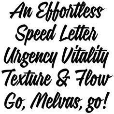 Signalist. Brush Lettering Font