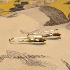 Najo Silver Teardrop Earrings