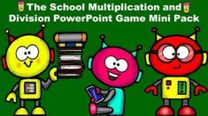 This school themed mini pack reviews multiplication and division facts from 0-12. They include the following components:** 25 practice problems. The answers follow the questions, so the students get instant feedback.**5 school themed multiplication/division word problems.**The Lightning Round! Multi... Beginning Of The School Year, New School Year, Middle School, Back To School, Powerpoint Games, Multiplication And Division, Math Skills, Word Problems, Math Resources