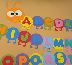 Pin by Maja Bockayova on abeceda Toddler Classroom Decorations, Daycare Themes, Kindergarten Classroom Decor, Preschool Decor, Daycare Rooms, School Decorations, Classroom Themes, Infant Classroom Ideas, Learning Activities