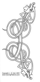 Viking and Celtic Interlocking Lines Pattern Package - download